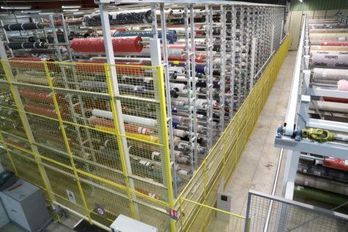 stockage automatique des rouleaux VTD