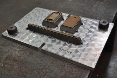 Groupe VTD fabrication d'outillags de découpe outils usinés maroquierie Drôme Allie Yvelines