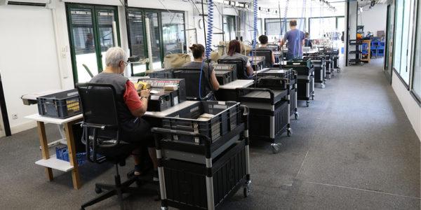 Groupe VTD, usinage mécanique préparation fabrication d'outillages de découpe maroquinerie Gannat (Allier) Ecquevilly (Yvelines) Romans-sur-isère (Drôme)